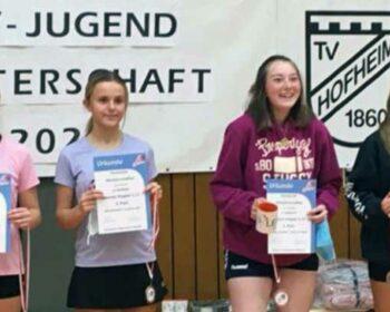 Hessenmeisterschaft-Mädchendoppel-U17